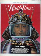 RADIO TIMES 7 MAY 1983 . ARENA FRONT COVER . BOB MARLEY . BEVIN BOYS
