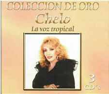 CD - Chelo La Voz Tropical NEW Coleccion De Oro 3 CD's FAST SHIPPING !