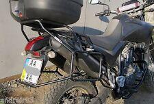 Yamaha XT660X Whole-Welded Luggage System Black Mmoto