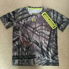 UNDER ARMOUR New Boys YouthXL Camo Camouflage Shirt Mossy Oak Scent Control