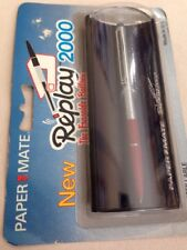 VINTAGE PAPER MATE REPLAY 2000 ERASABLE INK BALLPOINT PEN-ORIGINAL PACKAGING.