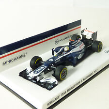 Minichamps 1:43 Williams F1 Team Renault FW34 Maldonado 2012 410-120018