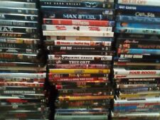 Dvd movies action comedy 80's 90's & more (free shipping after 1st purchase) Vg+