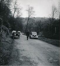 ROUTE DU COL DE LA SCHLUCHT c. 1950 - Attelage de Boeufs Vosges - Div 5346