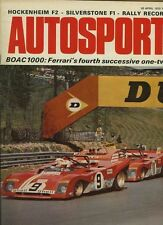 Autosport April 20th 1972 * BOAC 1000 KM 's & AUDI Coupé 100 S Essai Routier *