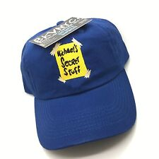 Royal Blue Michael's Secret Stuff Space Jam Dad Cap Hat Exclusive