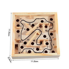 3D Puzzles Wooden Labyrinth Toys Board Ball Maze Games Educational Toy for Kids