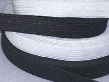 cinta elástica gummilitze 3m goma suave cordel negro 2mm-hutgummi