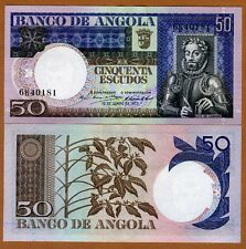 Angola, 50 Escudos, 1973, P-105, UNC