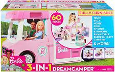 More details for barbie 3-in-1 dream camper play set