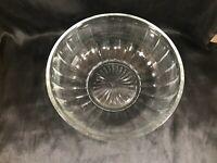 """Vintage 8"""" Hazel Atlas Sunburst Paneled Bowl"""