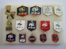 b1 lotto 15 spille FRANCE football federation association team pins lot