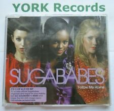 SUGARBABES - Follow Me Home - Excellent Condition CD Single Universal 985 682 3