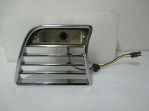 NOS 59 Studebaker Champ Pick Up Left Hand Front Turn Signal Lamp Bezel 1331389S