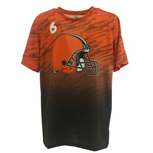 Cleveland Browns Baker Mayfield NFL Kids Youth Size Athletic T-Shirt New Tags