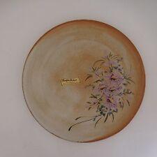 Plat assiette céramique Vallauris Maryse RIBERO fait main vintage art nouveau XX