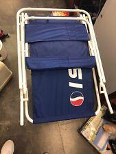 Vintage Pepsi Beach Lawn Chair