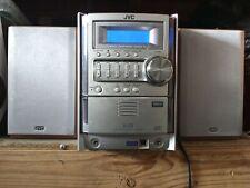 Jvc Fs-G5 Mini Component System 5-Cd Mp5 iPod dock Bluetooth adapter