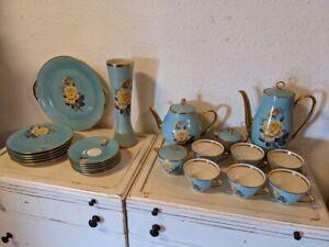 Teeservice Kaffeeservice Porzellan Geschirr Vintage Erbstück