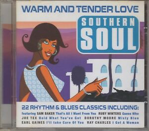 """Warm & Tender Love """"Various Artists"""" NEW SOUTHERN SOUL CD 22 Tracks"""