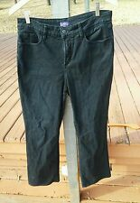 NYDJ Not Your Daughter's Jeans Womens Bootcut Size 12 in Black