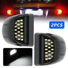 2X License Plate Light Lamp LED SMD for Chevy Silverado Avalanche GMC 2000-2006