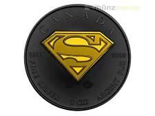 5 $ Dollar Black Superman Kanada 1 oz Silber + Ruthenium 2016