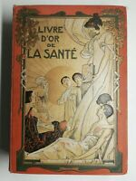 Rare Livre Ancien livre d'or de la santé tome 1