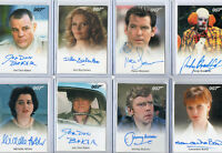 James Bond 007 - Full Bleed Autograph & Relic Prop Card Selection NM Rittenhouse