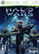 Halo Wars (Microsoft Xbox 360, 2009) Great Used Condition