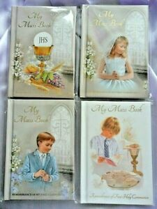 First 1st Holy Communion Missal Prayer book. 122 pages Hardback Mass book