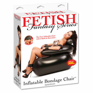 Fetish Fantasy Inflatable Bondage Chair - 6 Built in Restraints