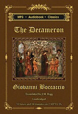The Decameron - Unabridged MP3 CD Audiobook in DVD case