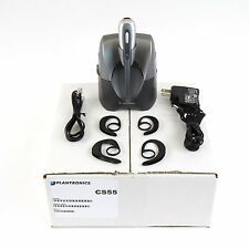 Plantronics CS55 Wireless Convertible Office Headset System-Lot Refurb-Warranty