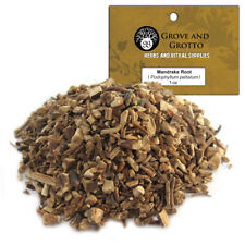 Mandrake Root 1 oz Package Ritual Herb Wildcrafted C/S by Grove and Grotto