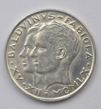Belgium 50 francs silver 1960 UNC