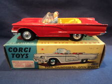Corgi 1960's Rare Ford Thunderbird Open Sports No: 215S N/MINT Ex Shop Stock