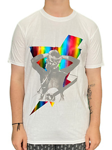 David Bowie Holographic Bolt Unisex Official T Shirt Brand New Various Sizes