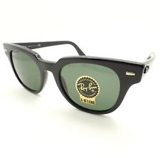 e572c13a18 Ray Ban RB 2168 901 31 Black Green Sunglasses New Authentic
