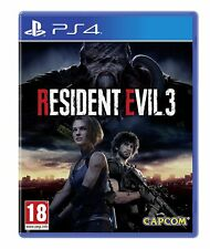 Resident Evil 3 PS4 Brand New Factory Sealed PlayStation 4