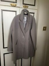 Ladies Stylish boucle coat size 18 NEW