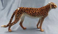 Gepard Hutschenreuther figur porzellanfigur panther porzellan tiger 1970