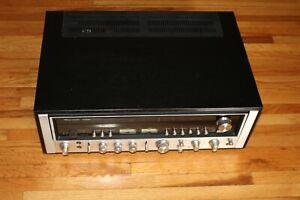 Sansui Model 9090DB Stereo Receiver - Black Cabinet