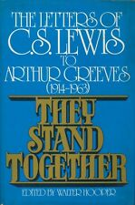 They Stand Together Letters C.S. Lewis Arthur Greeves 1st Amer Ed VG Cond.