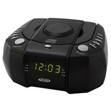 Am/Fm Stereo Dual Alarm Clock Radio With Cd Player, Digital Tuner and Aux Input