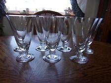 Parfait Cut Stem Plain Bowl - 7 Glasses