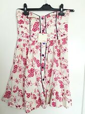 New MISO Strapless Floral Top- Size 10- Quality Material