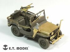 ET Model E35126 1/35 WWII US Willys MB Jeep Detail Up Set for Tamiya 35219