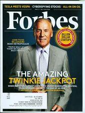2015 Forbes Magazine: Dean Metropoulos- Hostess Bankrupt/Tesla Meets Vespa/Oil