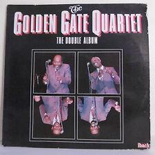 """2 x 33T GOLDEN GATE QUARTET Jazz Disques LP 12"""" THE DOUBLE ALBUM Dédicaces RARE"""
